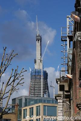Cranes on the Shard 2