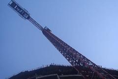 Crane towering 2