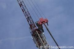 Crane Details Blue Sky