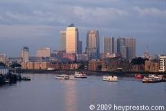 Canary Wharf Boats
