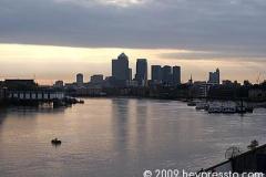 Canary Wharf Dawn