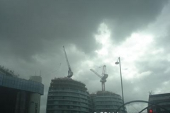 Crane at City Roundabout