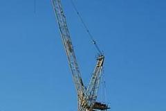 Crane at Highbury