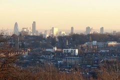London from Alexandra Palac