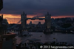 Tower Bridge Dusk