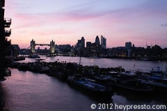 Tower Bridge Sunset 2
