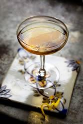 Cartusian Sazerac Chartreuse cocktail. Photo from Saveur