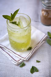 Chartreuse Smash cocktail. Photo from Saveur