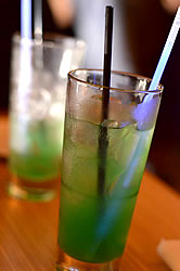Swamp Water chartreuse cocktail. Photo by KC Taffinder